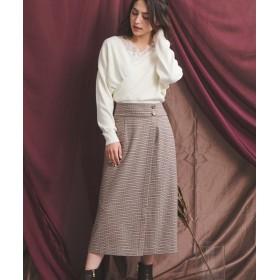 ノエラ Aラインミディスカート レディース ミックス S 【Noela】