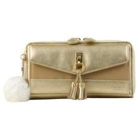 (Bag & Luggage SELECTION/カバンのセレクション)カナナプロジェクト ショルダーウォレット レディース kanana-34404/ユニセックス ゴールド