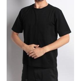 【69%OFF】 マックレガー コットン天竺クルーTシャツ メンズ ブラック L 【McGREGOR】 【タイムセール開催中】
