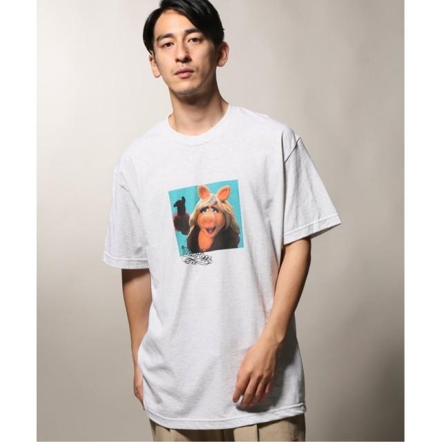 【50%OFF】 ジャーナルスタンダード wiffle × relume Tシャツ 2 / KERMIT THE FROG メンズ ホワイトA L 【JOURNAL STANDARD】 【セール開催中】
