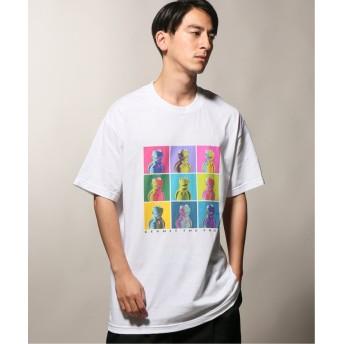 【50%OFF】 ジャーナルスタンダード wiffle × relume Tシャツ 1 / KERMIT THE FROG メンズ ホワイト L 【JOURNAL STANDARD】 【セール開催中】