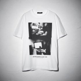 【ラブレス(LOVELESS)】 森山大道×LOVELESS グラフィック Tシャツ 森山大道×LOVELESS グラフィック Tシャツ オフホワイト