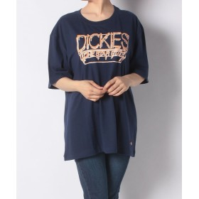 【50%OFF】 ディッキーズ プリントS/S Tシャツ ユニセックス ネイビー XS 【Dickies】 【セール開催中】