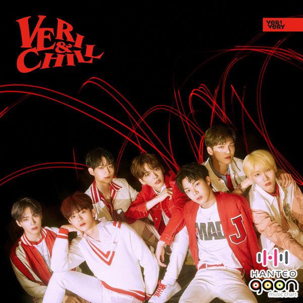 官方版本VERBERYVERIVERY - VERI-CHILL隨機七張照片卡中的一張