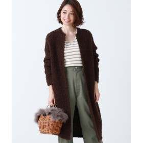 【50%OFF】 ビームス アウトレット Demi Luxe BEAMS / ブークレ ロングカーディガン レディース DBROWN ONESIZE 【BEAMS OUTLET】 【セール開催中】