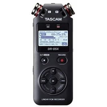 TASCAM タスカム - USB オーディオインターフェース搭載 ステレオ リニアPCMレコーダー DR-05X(増税前 お早めに)