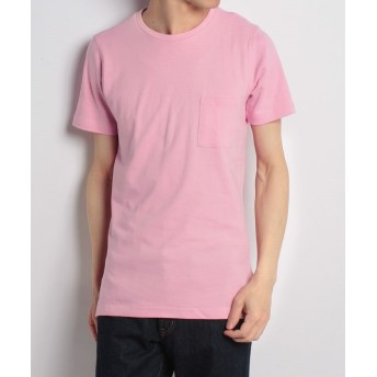 【70%OFF】 メンズビギ ロング丈ポケットTシャツ[キシリトール加工] メンズ ピンク L 【Men's Bigi】 【セール開催中】