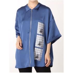 jouetie 2WAYフォトシャツ(ブルー)