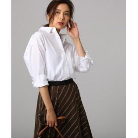 アンタイトル コットンブロードシャツ レディース ホワイト(001) 02(M) 【UNTITLED】