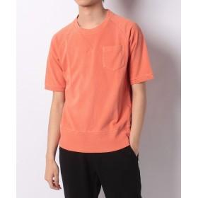 【51%OFF】 ベーセーストック SWEAT ピグメント SS メンズ オレンジ M 【B.C STOCK】 【タイムセール開催中】
