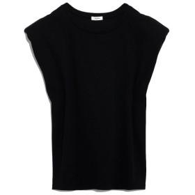 リリーブラウン ショルダーパットTシャツ レディース BLK F 【Lily Brown】