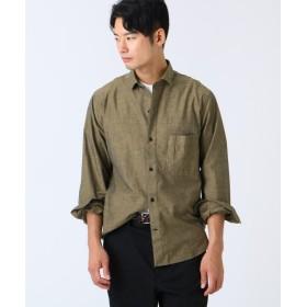 ドレステリア コットンカジュアルシャツ メンズ マスタード(033) 91(M) 【DRESSTERIOR】