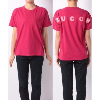 【60%OFF】 ズッカ (S)バックロゴTシャツ レディース レッド M 【ZUCCa】 【セール開催中】
