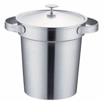 UK18-8スタッキングアイスペール 1L  【アイス ペール 氷 容器 アイスペール 氷入れ アイスバケット 厨房用品 調理器具 業務用