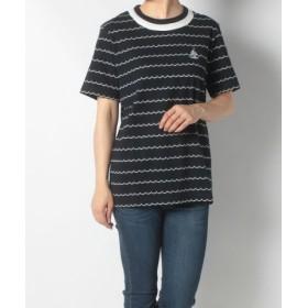 (FINE OUTLET/ファインアウトレット)【koe】半袖Tシャツ/レディース ネイビー