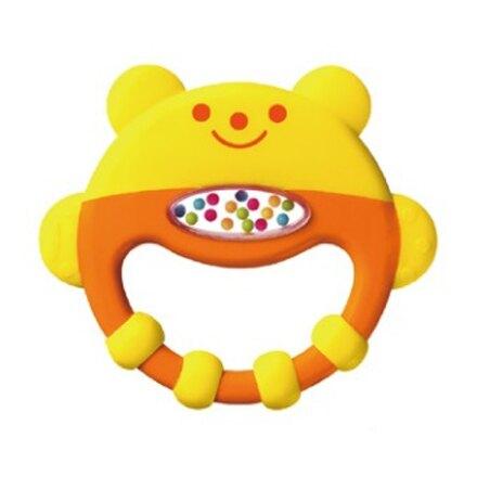 Combi 康貝 小熊手搖固齒玩具【悅兒園婦幼生活館】【母親節推薦】