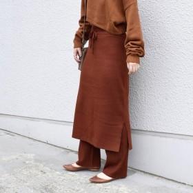 [マルイ] Khaju:ニットスカート×パンツ/カージュ(Khaju)