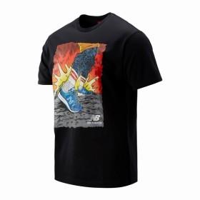 (NB公式) ≪ログイン購入で最大8%ポイント還元≫ アーティストパックストライドTシャツ (BK ブラック) 男性/メンズ/mens ニューバランス newbalance