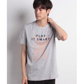 【50%OFF】 ラコステ 『ROLANDGARROS WEB限定』テクニカルジャージーTシャツ(半袖) メンズ グレー S 【LACOSTE】 【セール開催中】