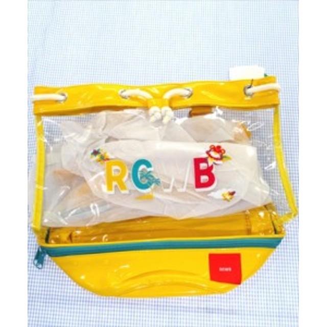 ロデオクラウンズ RCWB プールバック リュック クリア/黄色系 男の子 女の子 キッズ ジュニア カバン 雑貨 小物 通販 買い取り