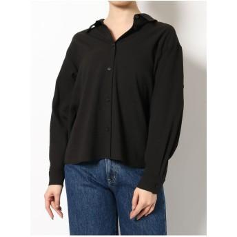 EVRIS バックフレアーシャツ(ブラック)