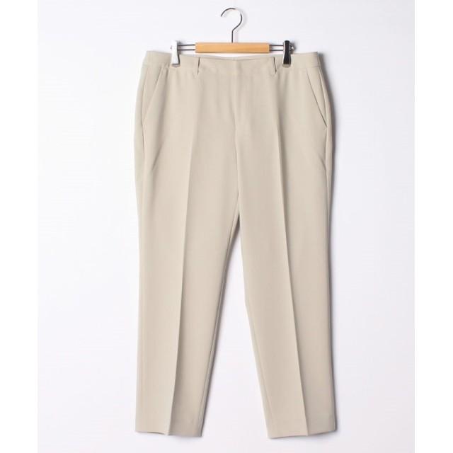 【50%OFF】 ラ・エフ MISSION DOUBLE CLOTHパンツ レディース グレー 46 【la.f.】 【セール開催中】