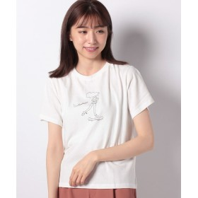 レトロガール girlsプリントTee レディース オフホワイト M 【RETRO GIRL】