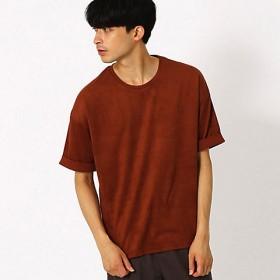 <COMME CA ISM (メンズ)> フェイクスエード ビッグTシャツ(4760TN08) レンガ【三越・伊勢丹/公式】