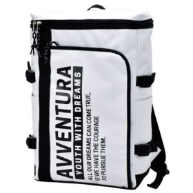 (RUNNER/ランナー)アヴェンチュラ AVVENTURA L字ポケット ボックスリュック トリコロール ポリナイロン レディース メンズ キッズ ユニセックス/ユニセックス ホワイト
