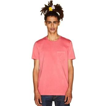 【70%OFF】 ベネトン(ユナイテッド カラーズ オブ ベネトン) 製品染めポケットTシャツ・カットソー メンズ ピンク XL 【BENETTON (UNITED COLORS OF BENETTON)】 【セール開催中】