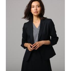 アンタイトル ウール混テーラードジャケット レディース ダークネイビー(094) 03(L) 【UNTITLED】