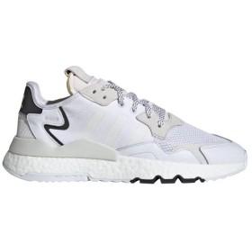 adidas men's NITE JOGGER スニーカー,ランニングホワイト/クリスタルホワイト S21
