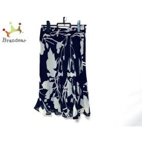 ニジュウサンク 23区 スカート サイズ38 M レディース ベージュ×黒 新着 20190804