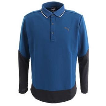 【Victoria Golf & mall店:スポーツ】タイト スリーブ 長袖 ポロシャツ 923903-02