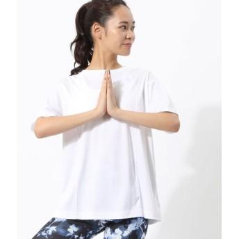 ナージー/ナノシアバックタックTシャツ/ホワイト/F