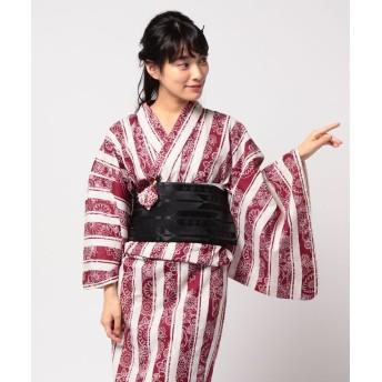 【47%OFF】 浴衣セレクション 浴衣三点セット レディース MIX フリー 【YUKATA SELECTION】 【セール開催中】