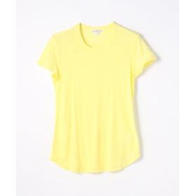トゥモローランド スラブジャージー クルーネックTシャツ WUA3037 レディース 22イエロー系 1(M) 【TOMORROWLAND】