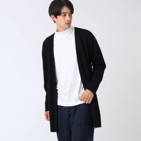 ティーケー タケオ キクチ tk. TAKEO KIKUCHI ミラノリブロングカーディガン (ブラック)