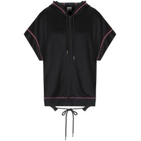 《セール開催中》PINKO レディース スウェットシャツ ブラック XS コットン 54% / ナイロン 46%