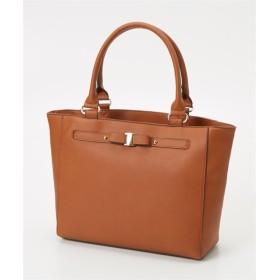 ベルトデザインシンプルトートバッグ(A4対応) トートバッグ・手提げバッグ