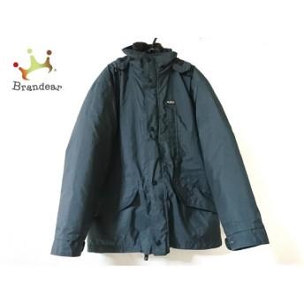 ジェオスピリット geospirit ダウンジャケット サイズ48 XL メンズ 美品 ダークグリーン 冬物 新着 20190805