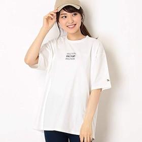 アーノルドパーマー タイムレス(レディース)(arnold palmer timeless) 3連ロゴビッグTシャツ【91オフホワイト/L】