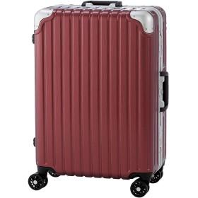【アウトレット品】 [錦原ラゲッジジャパン] スーツケース キャリーケース 大型 TSA LLサイズ ポメグラント (エンボス)