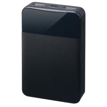 モバイル充電器 10000mA ブラック GH-BTF100-BK ブラック