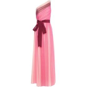《期間限定セール開催中!》PINKO レディース ロングワンピース&ドレス ピンク 40 ナイロン 100%