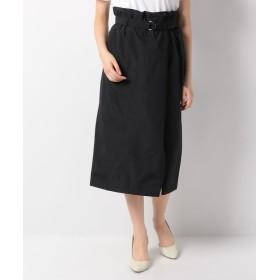 ミリタリーラップ風スカート