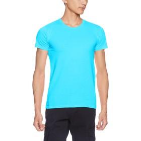 [ダルク] 半袖 5.0オンス スタンダード クルーネック Tシャツ DM030 シーブルー S (日本サイズS相当)