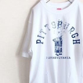 PITTSBURGH ビンテージ風 Tシャツ(ハイグレード)