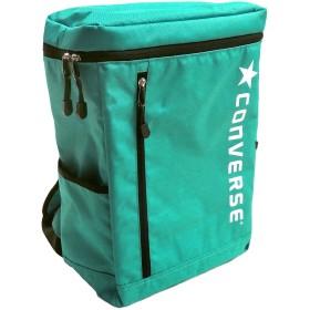 CONVERSE コンバース リュック ボックスデイパック スクエアリュック BOX型 ブランドロゴ (フリーサイズ(男女兼用), ミント)
