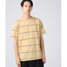 tk.TAKEO KIKUCHI(ティーケー タケオ キクチ) ◆ポリコットンジャカードボーダーTシャツ